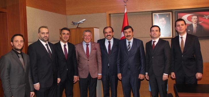 TAYÇED TBMM Çevre Komisyonu Başkanlığı Ziyareti Gerçekleştirdi