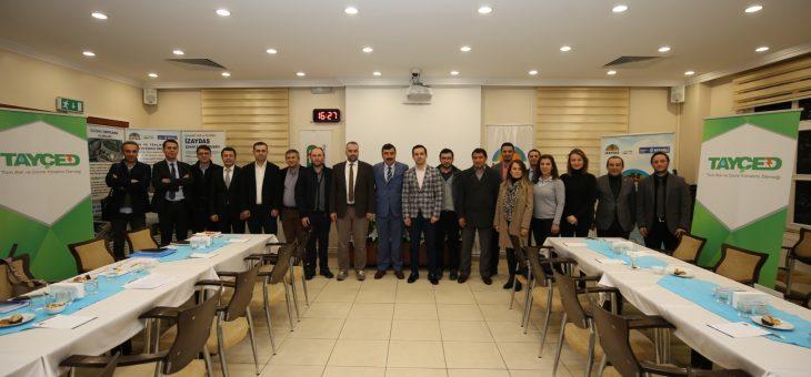 TAYÇED Teknik Komite Üyeleri Bir Araya Geldi