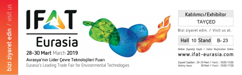 IFAT Eurasia 2019 davetiyesi