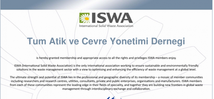 TAYÇED TAKES PLACE BETWEEN ISWA MEMBERS